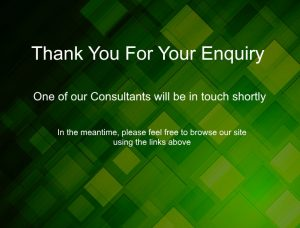 thank you for your enquiry